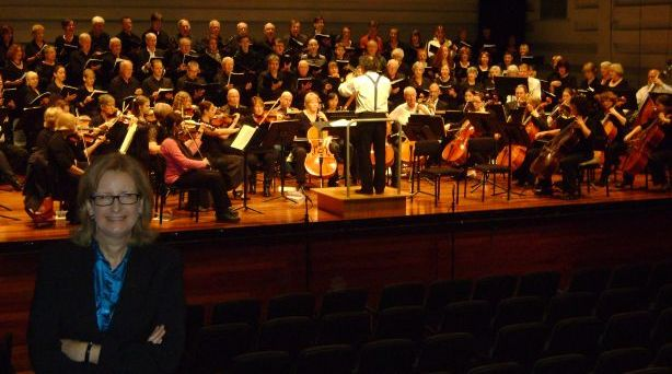 Anne Plummer with Penrith Symphony Orchestra